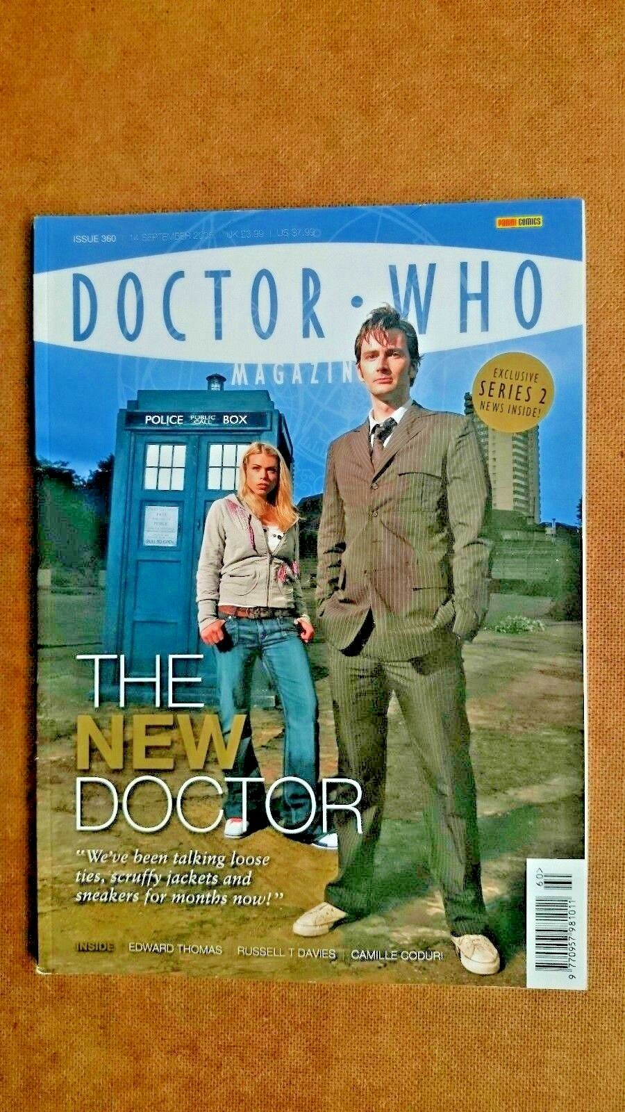 Doctor Who Magazine issue 360 The New Doctor