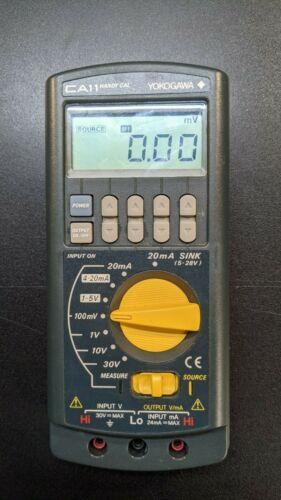 Yokogawa Handy Cal CA11 Calibrator 710 and carrying case