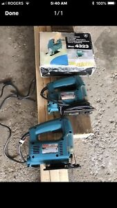 Makita jigsaw , only one left in excellent condition.