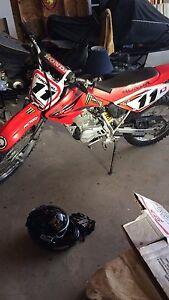 Honda crf with ownership