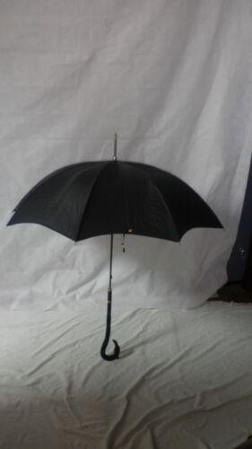 Vintage Edwardian Umbrella With Jet Black Sequin Bird Handle