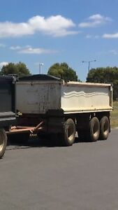 2007 Chris's super dog tipper trailer West Footscray Maribyrnong Area Preview
