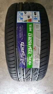 225/45R17 NEW TYRES $99.00 EACH