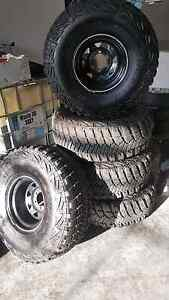 35 inch Goodyear Wrangler mud tyres Huntingdale Monash Area Preview
