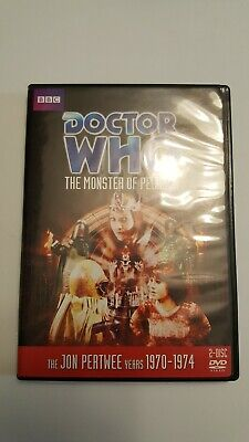 Doctor Who - The Monster of Peladon (DVD, 2010, 2-Disc Set)