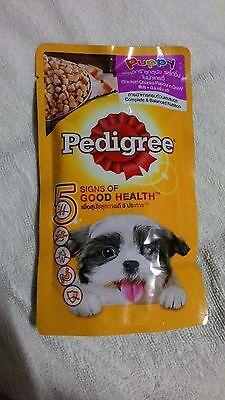 Pedigree Puppy 5 sign of Good Health