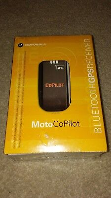 Motorola MotoCopilot Bluetooth GPS Receiver BRAND NEW (Cell Phone Gps Receiver)
