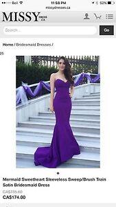 Brand new never worn - mermaid dress