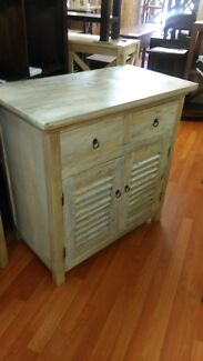 Small solid timber rustic Elm oak buffet sideboard Newtown Inner Sydney Preview