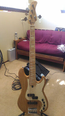 Sire Marcus Miller P7 5-String Swamp Ash Electric Bass Maple Board Natural + Bag