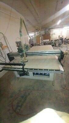 Precix 3-axis Cnc Router 5 10 6hp Spindle Tool Changer Vaccum Table