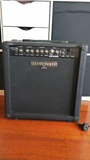 Guitar Amp: Behringer GTX30 (30 watts)