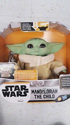 NIB--THE CHILD Baby Yoda Animatronic Edition Toy Figure The Mandalorian NEW