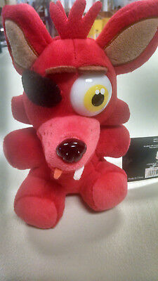 Rare  Foxy Only Plush Fnaf Five Nights At Freddys Toy Brand New