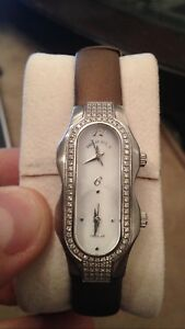 Authentic Philip Stein diamond watch with Teslar technology