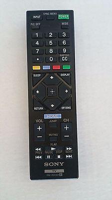 New Original Sony XBR-49X900E XBR-55X850D XBR-55X850DS TV Remote Control