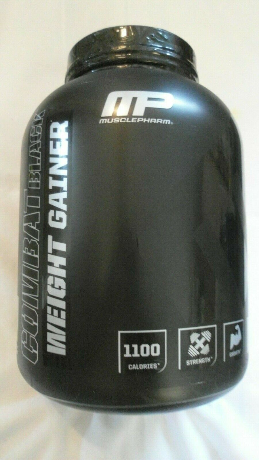 MP MusclePharm Combat Black Label Weight Gainer 5 lbs 8+ Ser