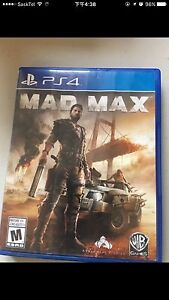 madmax PS4 game for sale