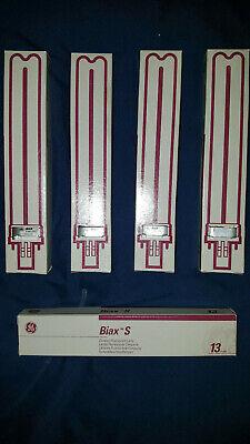 GE BIAX S 13W 825 Lumen CFL 2Pin F13BX SPX27 Compact Fluorescent Bulb GX23 NEW (Ge 13w Compact)