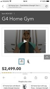 G4 LifeFitness Home Gym