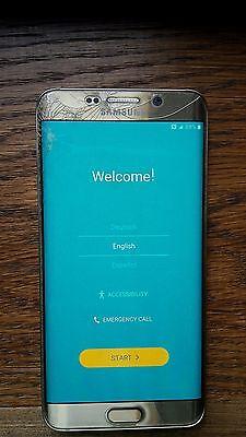 Samsung Galaxy S6 edge+ + SM-G928 - 32GB - Gold Platinum UNLOCKED Smartphone