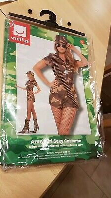 Kostüm Sexy Army Girl Soldat Military Uniform Gr. - Sexy Army Uniform
