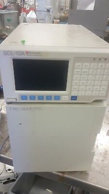 Shimadzu Scl-10a System Controller W Frc-10a Fraction Collector