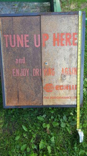 Vintage NAPA Echlin Tune up Cabinet Barn Find