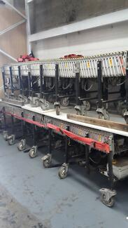 Electric Expandable Conveyor Roller Packaging Room