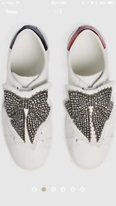 Gucci Ace Sneakers with Removable Bow Patches