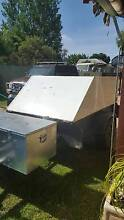 7x4 trailer with enclosed lid on gas struts Turvey Park Wagga Wagga City Preview