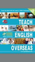 ATTN: Native English Speakers (GET TESOL IN 5 DAYS - 50% off)