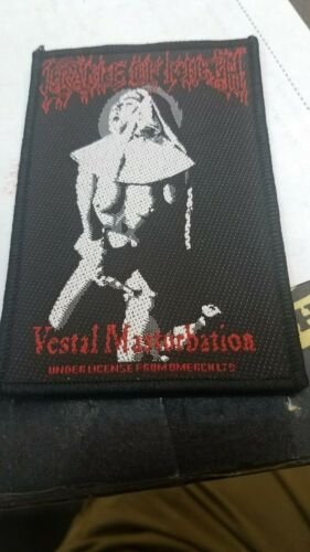 CRADLE OF FILTH PATCH NEW  RARE COLLECTABLE WOVEN ENGLISH IMPORT