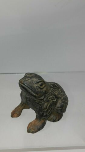 Vintage Cast Iron Toad