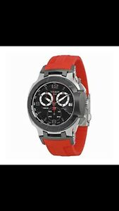 TISSOT RED TRACE WATCH