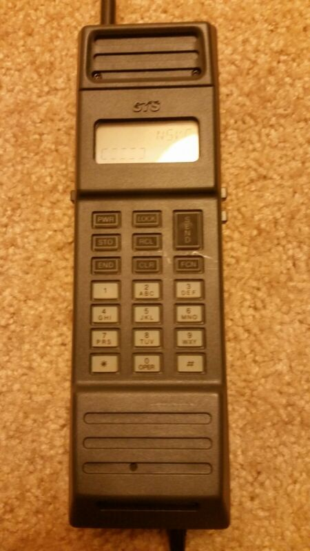 Rare Vintage STS Cell Phone Model CP832 with All Accessories Included