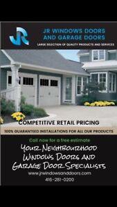 SAVE ON INSULATED GARAGE DOORS