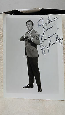 JOEY BISHOP Signed Auto Autograph 5x7 Photo