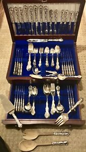 (Serious Inquires Only Please)  Birks Sterling Silver  Flatware