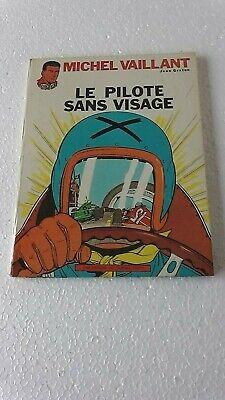 MICHEL VAILLANT T2 LE PILOTE SANS VISAGE  Réedition de 1967 BON ETAT