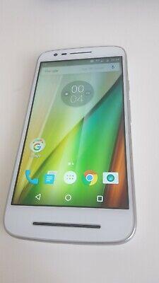"Motorola Moto E3 XT1700 4G 5"" Smartphone 8GB Unlocked  White Grade *A* Bargain"