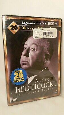 Alfred Hitchcock Halloween (Sealed NIP Alfred Hitchcock 4 DVD Legend Begins 20 Movie Classics Halloween)