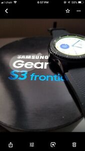 Watch SAMSUNG  Gear s3 Frontie with original accessories