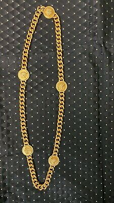 VERSACE CHAIN LINK NECKLACE