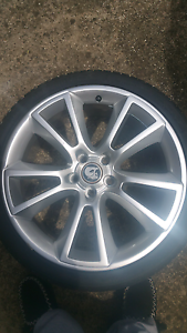 3 19inch wheels and tyres  genuine hsv Sunshine West Brimbank Area Preview