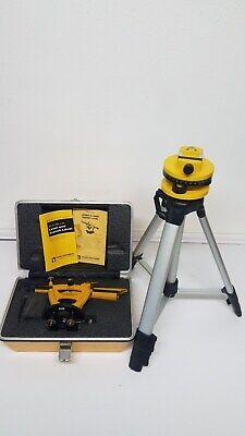 Original Berger Instruments Model 200b Surveying Level Transit-level With Tripod