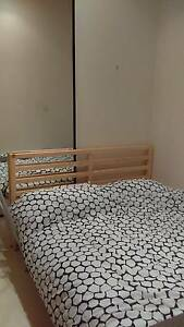 queen size BED & double size bed (Bed frame + mattress+ slat bed) Woolloomooloo Inner Sydney Preview