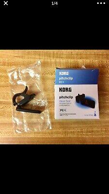 Korg PC-1 Clip On Tuner Black