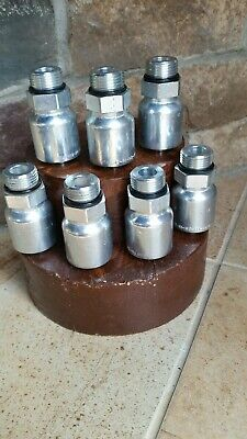 Parker Hydraulic Hose Fittings 105431212. 34 Male O-ring X 34 Hose.