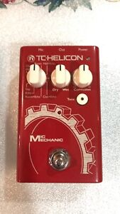 TC-Helicon Mic Mechanic Echo, Reverb and Pitch Correction Pedal